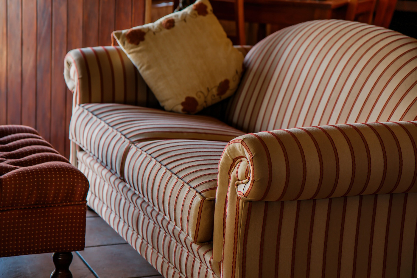 Read more about the article Striped Sofa